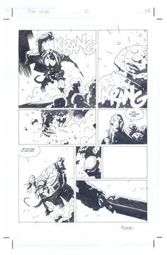 M. Mignola - Hellboy: The Third Wish Comic Art