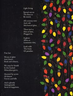 At Christmastime, Poetry by Valerie Worth, illustrated by Antonio Frasconi