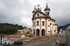Igreja Nossa Senhora do Rosário, Ouro Preto.