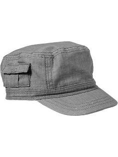 Slub-Canvas Cadet Hats for Baby | Old Navy