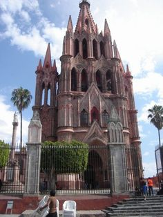 Beautiful cathedral in Mexico