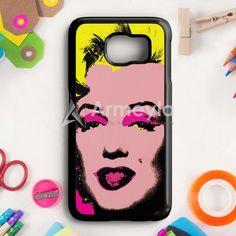 Andy Warhol Marilyn Monroe Pop Art Iconic Colorful Superstar Cute Samsung Galaxy S6 Edge Plus Case | armeyla.com