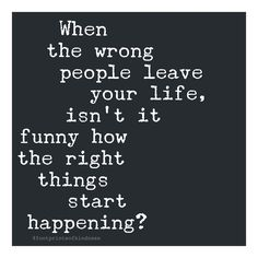 When the wrong people leave