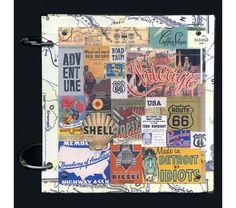 Vintage Road Trip Journal – 6 x 6 - #1, $31.5