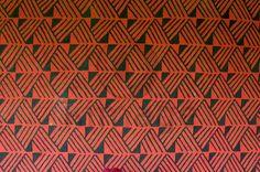 Arte indígena geométrica