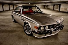 Love the slanted grille on the old Beamers >>> BMW 3.0 CSL