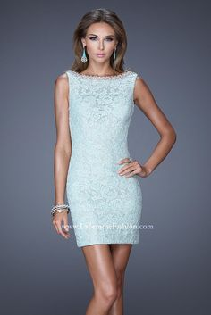 La Femme Short Homecoming Dress 20506