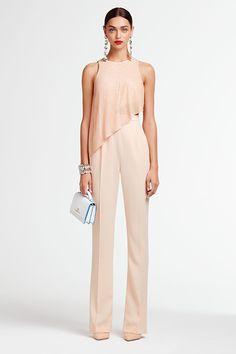 Wedding Trouser Suits, Look Fashion, Womens Fashion, Fashion Design, Modest Fashion, Fashion Dresses, Ideias Fashion, Evening Dresses, Glamour