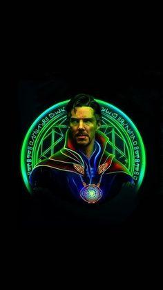 Marvel Heroes, Marvel Characters, Marvel Movies, Marvel Avengers, Marvel Logo, Superhero Wallpaper Hd, Avengers Wallpaper, Neon Wallpaper, Doctor Strange