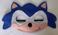 Mascara Sonic e Amy Sonic Party, Sonic Birthday Parties, Sonic E Amy, Sonic Dash, Sonic The Hedgehog Costume, Sonic Costume, Sonic Hedgehog, Toddler Costumes, Diy Costumes