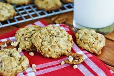 The Kitchen is My Playground: Toffee Oatmeal Cookies