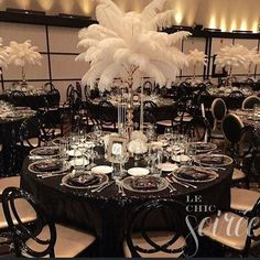 15 Glamorous Great Gatsby Wedding Decorations Page 9 Of 14