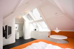 Micro apartment in The Hague, Netherlands by Maaf