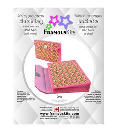 Framous Kits-Art Deco Clutch Framous Plastic Canvas Kit