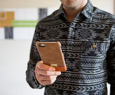 Brown Leather Focus Case for iPhone 6s Plus - iPhone 6/6s Plus - Cases - Shop | HEX