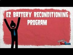 EZ Battery Reconditioning program, how to recondition a lead acid battery