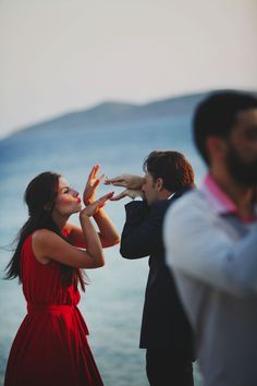 Some weddings are romantic, some are adorable, others are whimsical, and some just look like one fun party. This wedding in Andros is all of that and more. Art Catering, Crazy Friends, Island Weddings, Hair Designs, Best Part Of Me, Beautiful Bride, Bridal Gowns, Wedding Planner, Wedding Venues