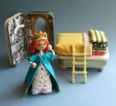 Altoid Tin Toys - Create a bed for a princess