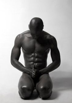 A nice clean male pose that anyone ripped/lean-enough can look good in and still have a pic that is artistic/safe.