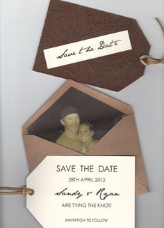 FUN Save the Date for friends