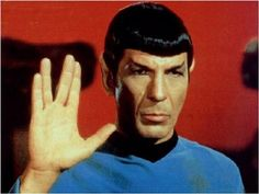 Leonard Nimoy - Spock is my favorite character with Kirk next, then Bones.
