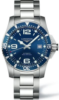 @longineswatches HydroConquest Mens #add-content #bezel-unidirectional #bracelet-strap-steel #brand-longines #case-material-steel #case-width-41mm #date-yes #delivery-timescale-1-2-weeks #dial-colour-blue #gender-mens #l37424966 #luxury #movement-automatic #new-product-yes #official-stockist-for-longines-watches #packaging-longines-watch-packaging #style-dress #subcat-hydroconquest #supplier-model-no-l3-742-4-96-6 #warranty-longines-official-2-year-guarantee #water-resistant-300m