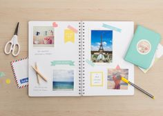Tinyme Scrapbooking Printables |  Welcome to scrapbooking heaven! We've got you covered with these adorable Scrapbooking Printables...Yay! These oh-so-pretty printables come in two different colour ways. Gather your photos and happy memories and let the scrapbooking begin! | Tinyme Blog