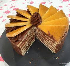 » La Dobostorta, l'Épreuve Technique de la Finale du Meilleur Pâtissier saison 5 - La cuisine de Mercotte :: Macarons, Verrines, … et chocolat