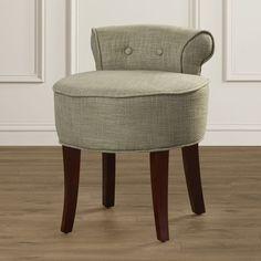 Sensational Safavieh Furniture Mcr4518A Rebecca Tufted Vanity Stool Lamtechconsult Wood Chair Design Ideas Lamtechconsultcom