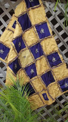 Crown Royal rag quilt by Mragquilts on Etsy, $149.00