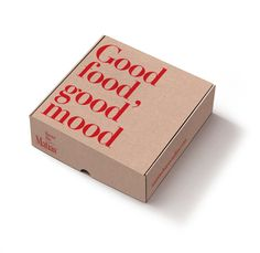 Risultati immagini per packaging comidas Food Box Packaging, Bread Packaging, Corrugated Box, Canapes, Good Mood, Recipe Box, Finger Foods, Brunch, Container