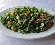 Tabouli....could eat this every day of my life and smile every time!!!! mmmm