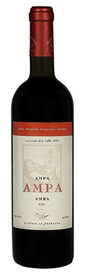 Amra, red semi-dry wine