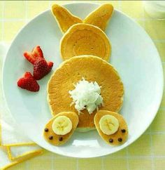 Peter Cottontail Pancakes