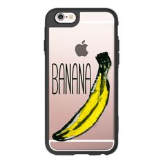 iPhone 6 Plus/6/5/5s/5c Case - Hand Painted Yellow and Black... ($40) ❤ liked on Polyvore featuring accessories, tech accessories, iphone case, apple iphone cases, iphone hard case, iphone cases, iphone cover case and transparent iphone case