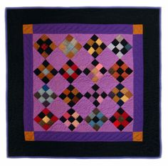 LOVE the colors. Love.-perfect for by granddaughter's quilt--she loves purple
