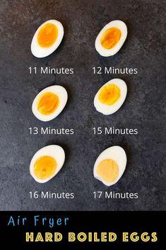 Easy Hard Boiled Eggs, Hard Boiled Egg Recipes, Cooking Hard Boiled Eggs, Perfect Hard Boiled Eggs, Cooking Eggs, Easy Cooking, Hard Boiled Egg Breakfast, Boiled Egg Diet, Air Fryer Recipes Eggs