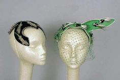Bes-Ben Lizard and Skunk Hats - Couture and Textiles | Doyle Auction House