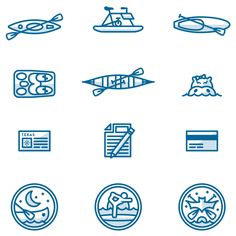 Noted: New Logo and Identity for Rowing Dock by Sputnik Creative