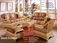 Beautiful Island Paradise Rattan Furniture
