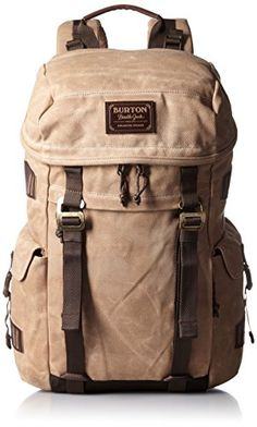 Burton Rucksack Annex Pack, Beagle Brown Waxed Canvas, 18 x 27 x 51 cm, 28 Liter Canvas Backpack, Laptop Backpack, Travel Backpack, Backpack Bags, Travel Bags, Leather Backpack, Leather Bag, Outdoor Backpacks, Cool Backpacks