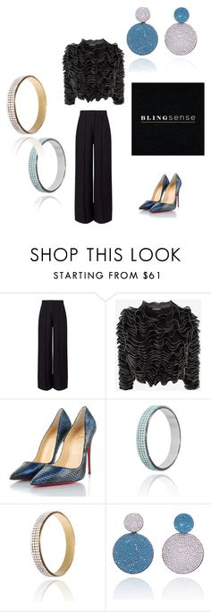 """""""blingsense  jewelry 4"""" by seldy-enes ❤ liked on Polyvore featuring Miss Selfridge, Alexander McQueen and Christian Louboutin"""