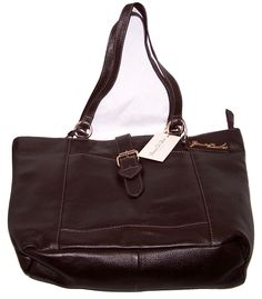 SIENNA DE LUCA Jessica Brown Leather Hobo Bag.  MRRP: £199.98GBP - AVI Price: £80.00GBP