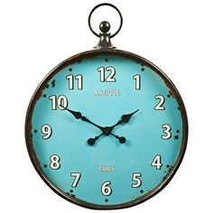 Paris Fob Watch Clock 60cm   Freedom Furniture and Homewares