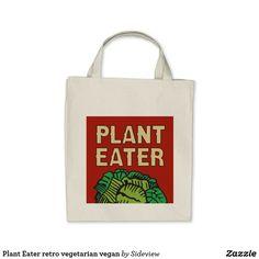 Plant Eater retro vegetarian vegan