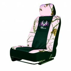 Camo Low Back Seat Cover, Universal, Realtree AP Pink, Bone Collector Browning, Camo Car Accessories, Camo Seat Covers, Camo Guns, Used Chairs, Camo Outfits, You're My Favorite, Pink Camo, Country Girls