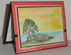 More from Moon Lake for the Creative Blog Hop - 2 by shoogendoorn - Cards and Paper Crafts at Splitcoaststampers
