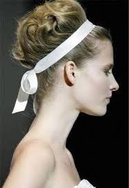 Hairstyle Ideas for Modern Brides Modern Hairstyles, Up Hairstyles, Wedding Hairstyles, Hairstyle Ideas, Hair Ideas, New Hair, Your Hair, Ribbon Hairstyle, Hair Bow