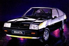 1981 Opel Manta CC GT/E