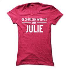 Team Julie - Limited Edition - #cheap tees #cotton shirts. ORDER NOW => https://www.sunfrog.com/Names/Team-Julie--Limited-Edition-uhcoxxlqln-Ladies.html?60505